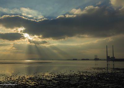 Sunbeams at Clontarf
