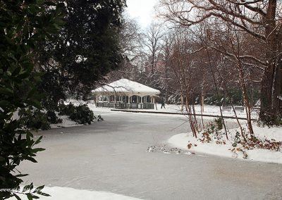 St. Stephen's Green in the Snow 2