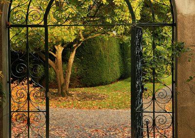 Entrance Gate to Farmleigh Walled Garden