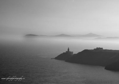 Howth Head and Lighthouse 2