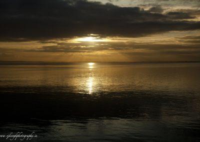 Sunset at Carlingford