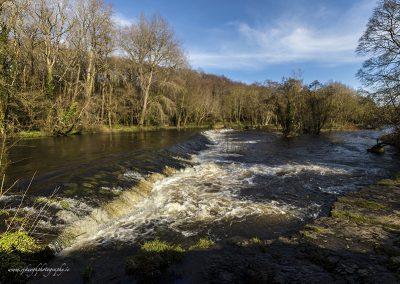 River Liffey flow through Lucan